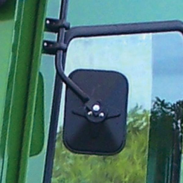 Tractor Side Mirrors : John deere tractor defendercab