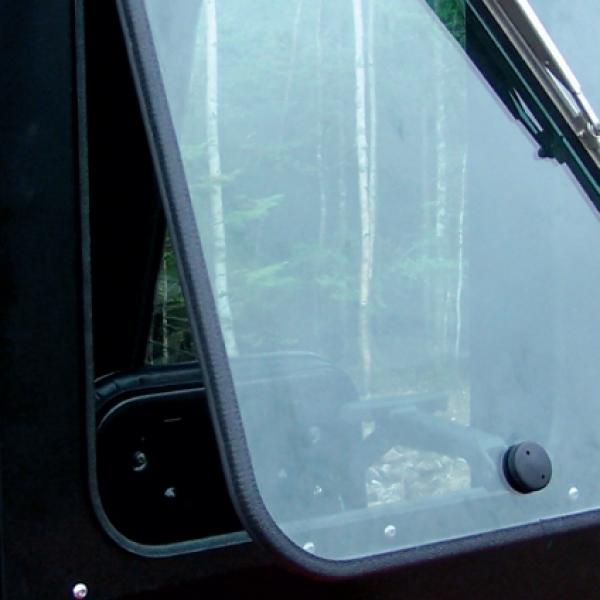 Kioti tractor defendercab for Back door with window that opens