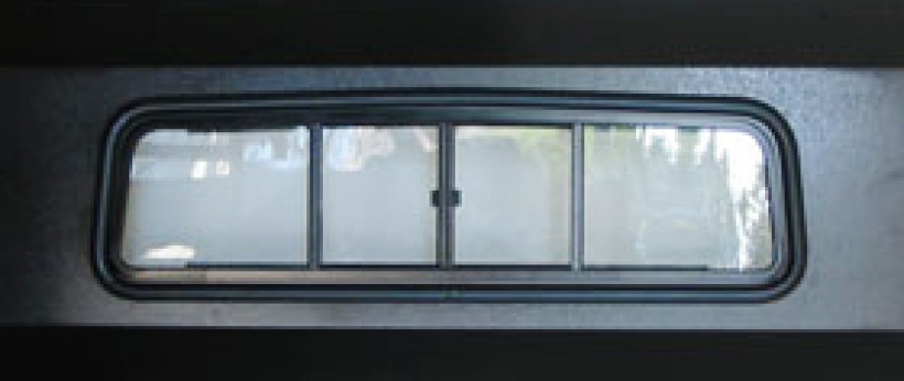 Yamaha Rhino Rear Window Installation